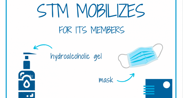 [COVID 19] STM is mobilizing