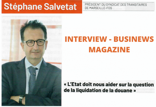L'interview du président Mr SALVETAT